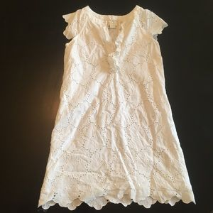 Kate spade white summer dress